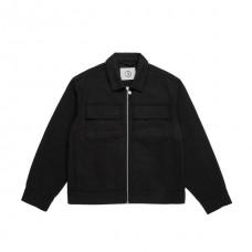 Chaqueta Polar Twill Jacket Negra