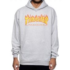 Sudadera Thrasher Flame Gris