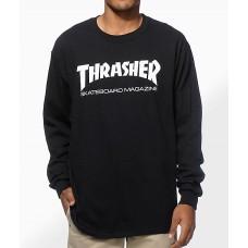 Sudadera Thrasher Sk8 Mag Negra