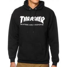 Sudadera Caputcha Thrasher Skate Mag Negra