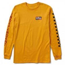 Camiseta Vans x Independent Amarilla
