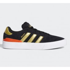 Zapatillas Adidas Skateboarding Busenitz Vulc II Core Black Gold Metallic