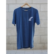 Camiseta Manga Corta Tactic Single Fin Azul