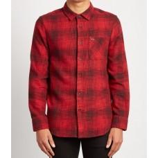 Camisa Volcom Buffalo Roja
