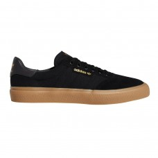 Zapatillas Adidas Skateboarding 3MC Negras Marrones