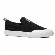 Zapatillas Adidas Skateboarding Matchcourt Mid Slip On Canvas Negras