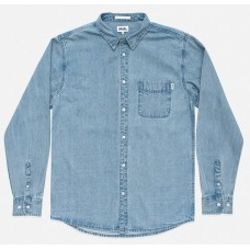 Camisa Manga Larga Afends Stoned Denim