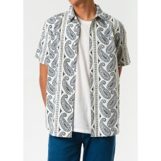 Camisa Manga Corta Afends Party Wave Hemp
