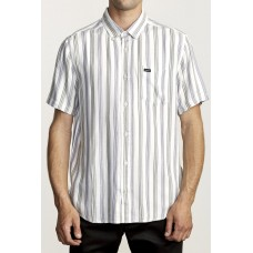 Camisa Manga Corta RVCA Merced Blanca