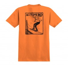 Camisetas Manga Corta Anti Hero Lance Series Naranja