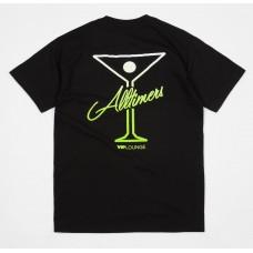 Camiseta Manga Corta Alltimers Puff Classic Logo Negra