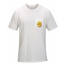 Camiseta Hurley Hot Smiles Pocket Blanca