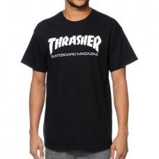 Camiseta Thrasher Sk8 Mag Negra