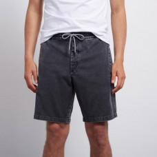 Pantalones Cortos Volcom Flare Short Negros