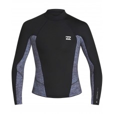 Lycra Surf Billabong Absolute 2mm  LS Negra Gris