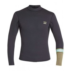 Lycra Surf Billabong Revolution 2mm  LS Negra