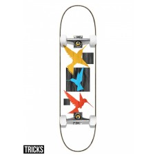 Tabla Skate Completa Tricks Birds 7.75.