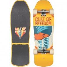 "Mini Longboard Completo Globe Blaster Cult Of Freedom 30"""