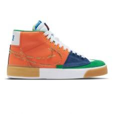 Zapatillas Nike SB Blazer Mid Edge Safety Orange
