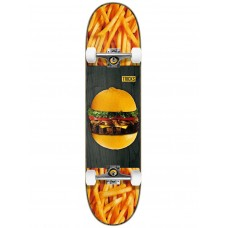 Tabla Skate Completa Tricks Acid Burguer 8.0