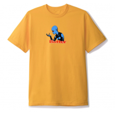 Camiseta Manga Corta Butter Goods Fantastic Planet Amarilla