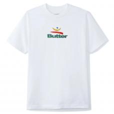 Camiseta Manga Corta Butter Goods 92 Blanca