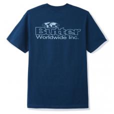 Camiseta Manga Corta Butter Goods Incorporated Azul