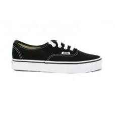 Zapatillas Vans Authentic Negras/Suela Blanca