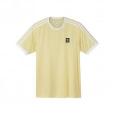 Camiseta Manga Corta Adidas Skateboarding Club Jersey Amarilla