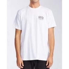Camiseta Manga Corta Billabong Sunrise SS White