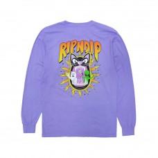 Camiseta Manga Larga Rip N Dip Hellavanight Lilac