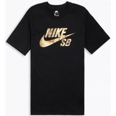 Camiseta Manga Corta Nike SB Logo SNSL 2 Negra