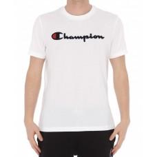 Camiseta Manga Corta Champion Chenille Blanca
