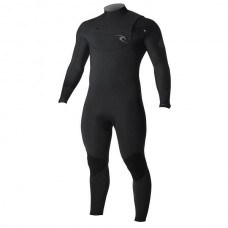 Traje Neopreno Rip Curl Dawn Patrol 4'3 Chest Zip Negro 2019