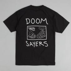 Camiseta Doom Sayers Snake Shake Negra