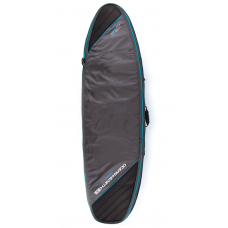 Funda Surf Ocean Earth Double Compact Negra Azul 6'0