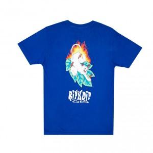 Camiseta Manga Corta Rip N Dip Fuego Azul