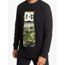 Camiseta Manga Larga DC Protocol Negra