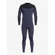 Traje Neopreno Quiksilver Syncro Chest Zip 5/4 Negro Azul 2021