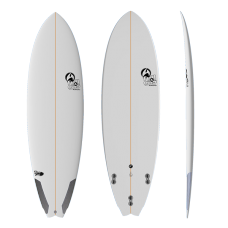 Tabla Surf Full & Cas Pand Fish 6'2