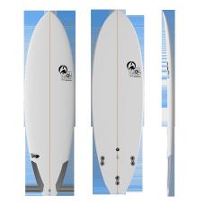 Tabla Surf Full & Cas Pand Fish 5'10