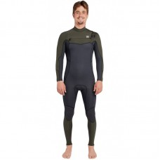 Traje Neopreno Billabong Furnace Absolute 4'3 Chest Zip Verde 2019