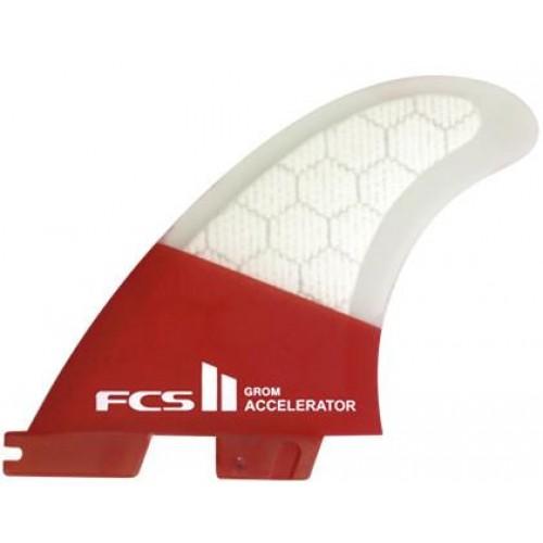 Quillas Surf FCS II Accelerator PC Grom Tri Fin