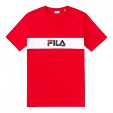 Camiseta Manga Corta Fila Nolan Tee Roja