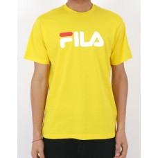 Camiseta Manga Corta Fila Classic Pure Amarilla