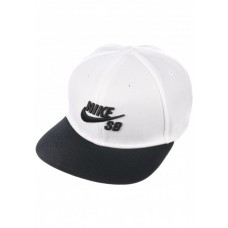 GORRA NIKE SB BLACK WHITE