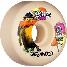 Ruedas Skate Bones Greenwood 99A 52mm