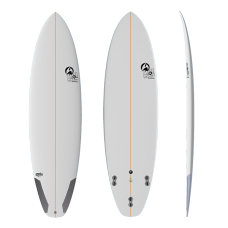 Tabla Surf Full & Cas CHS 6'4.