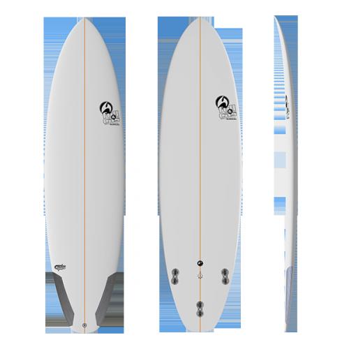 Tabla Surf Full & Cas CHS 6'3.