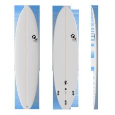 Tabla Surf Full & Cas Evo 7'0 Blanca